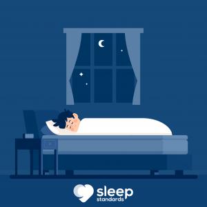 Animation of a boy sleeping - Sleep Standards