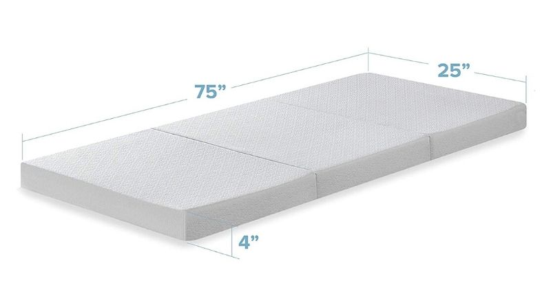 Best Price Mattress Small Trifold Mattress - Best Size Range