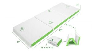 Cushy Form Tri-Fold Folding Mattress