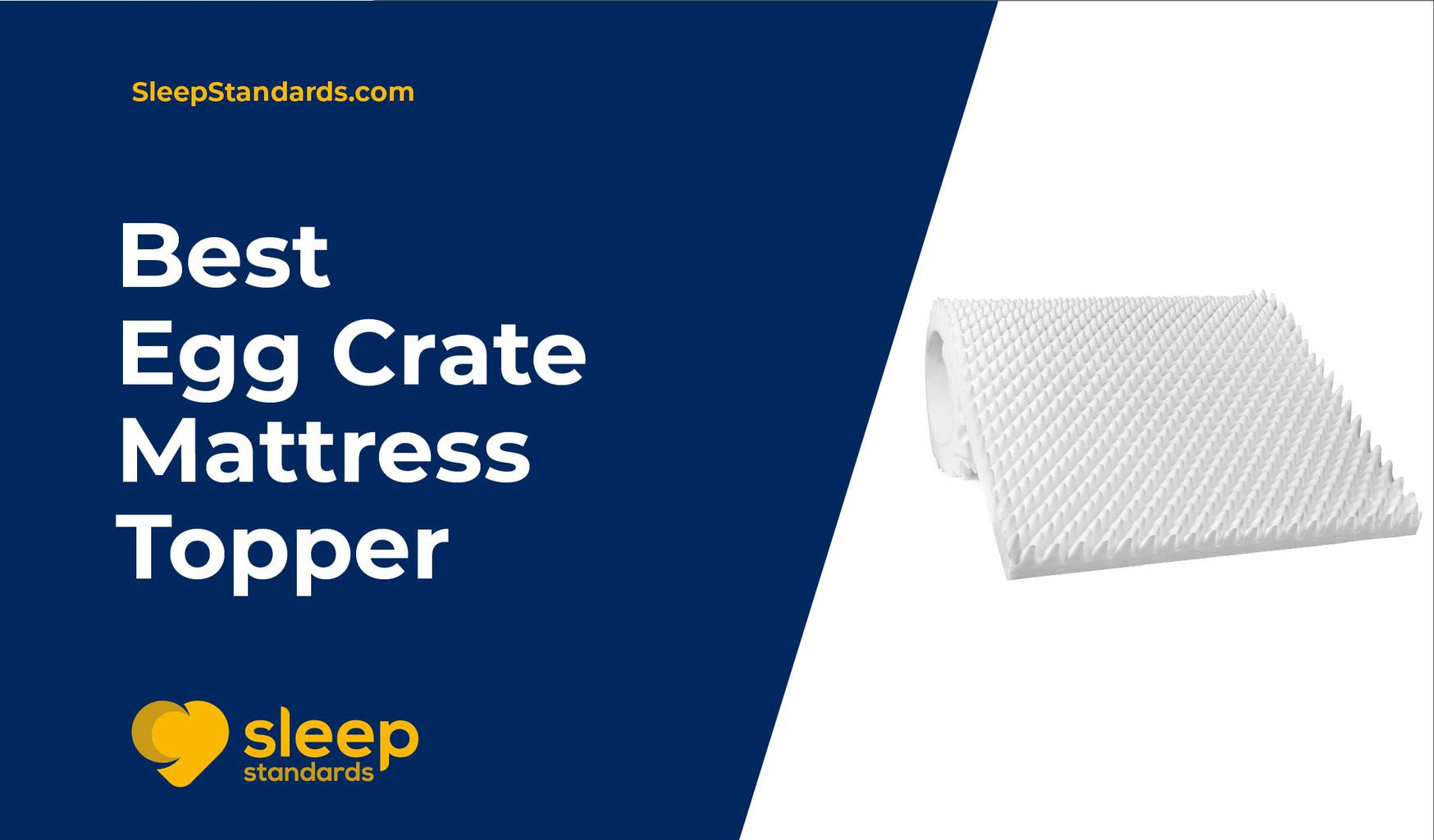 Picture of: 5 Best Egg Crate Mattress Topper Our Top Rated List In 2020