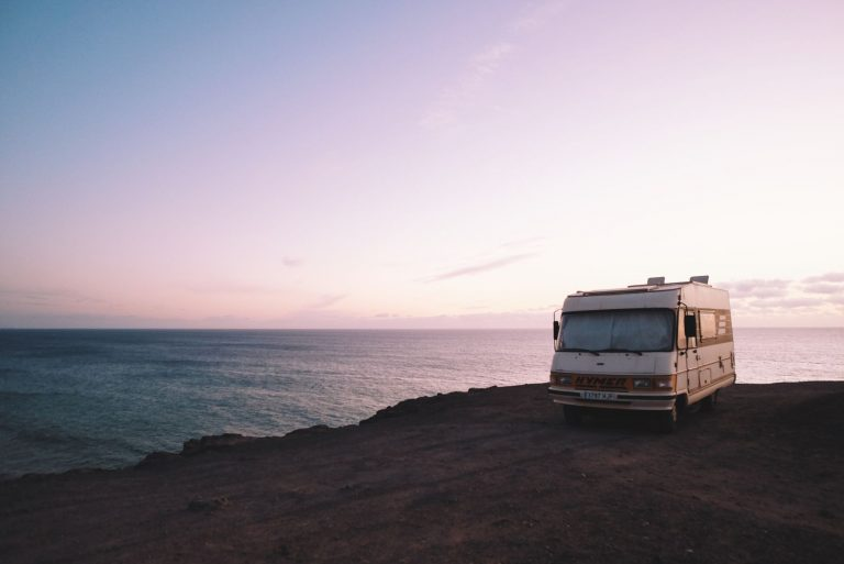 Rv in Sunset