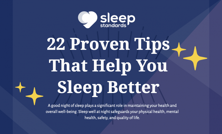 Sleep Tips - Sleep Standards