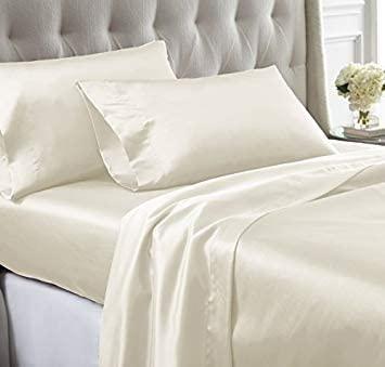 Best Multi-Piece Set – Bedding Emporium 7-Piece Silk Satin Sheet Set