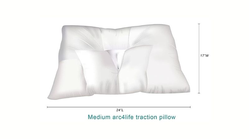 Arc4Life Cervical Neck Traction Pillow - Best Orthopedic Pillow