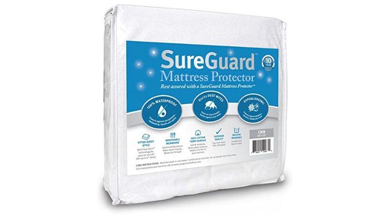 Editor's Choice – SureGuard Mattress Protectors Crib Size