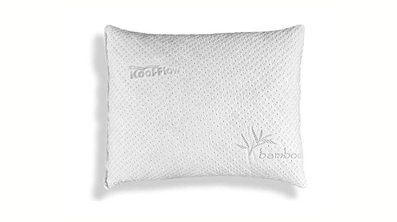 Xtreme Comforts Hypoallergenic Adjustable Bamboo Memory Foam Pillow - Best Bamboo Pillow for Headaches