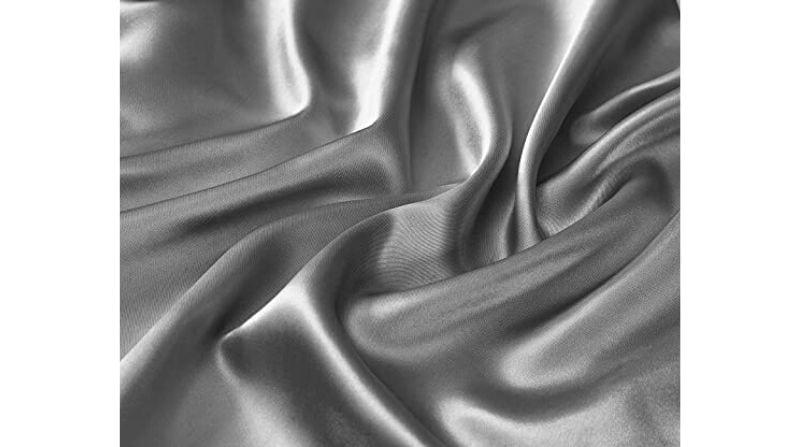 Best Cheap Silk Alternative – MK Collection 4-Piece Satin Sheet Set
