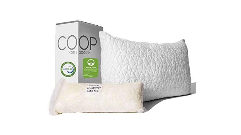 Coop Home Good Adjustable Loft Pillow – Best Adjustable Pillow