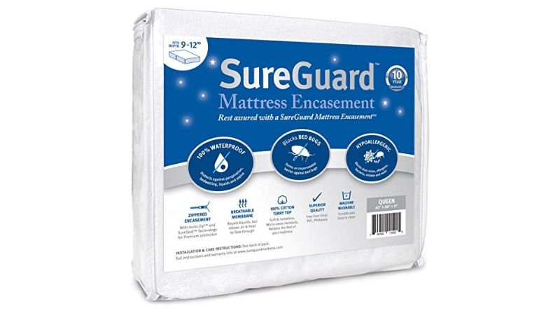 SureGuard Mattress Encasement - Best Hypoallergenic