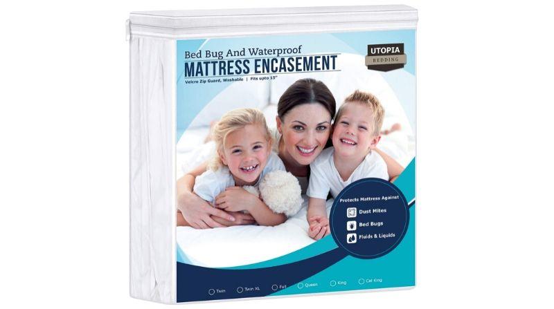 Utopia Bedding Zippered Mattress Encasement - Best Value