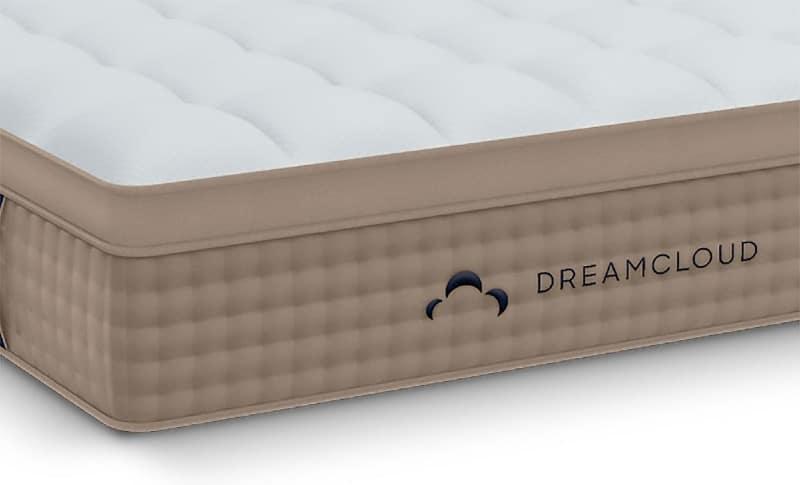 DreamCloud hybrid mattress side view