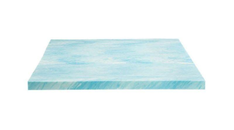 """DreamFoam 2"""" Gel Swirl Memory Foam Topper - Best Soft Mattress Topper"""