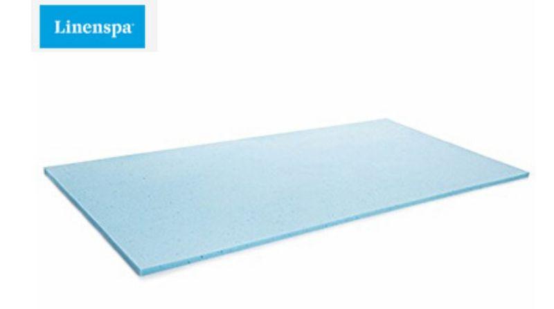 Linenspa 2 Inch Gel Infused Memory Foam Mattress Topper - Best Value Mattress Topper