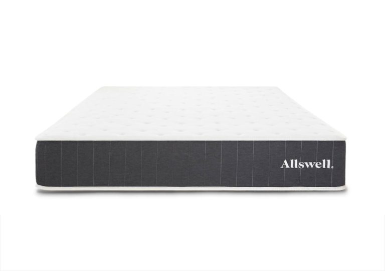 Allswell mattress for back pain 2021 front view