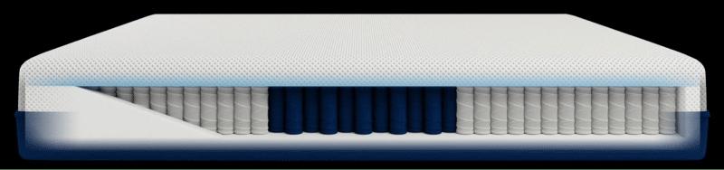 Amerisleep AS5 mattress for side sleepers 2021 inside view