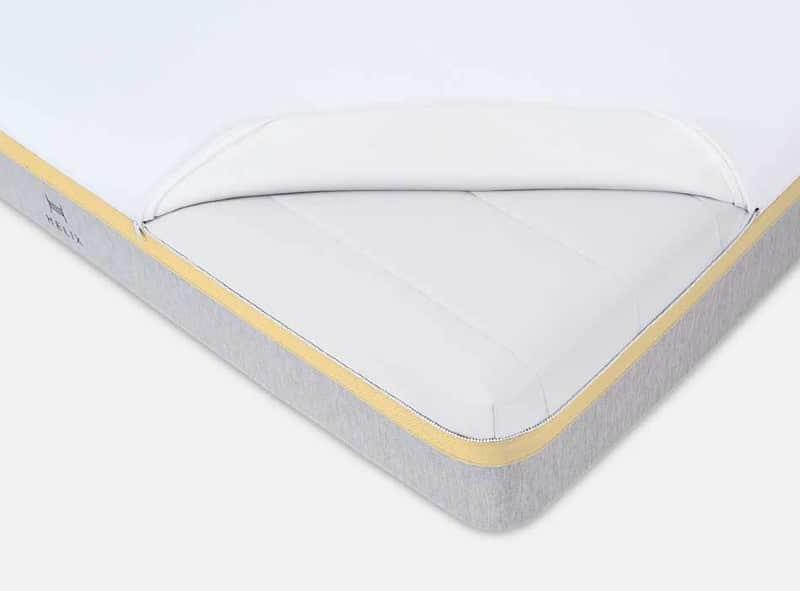 Helix Dawn mattress for back pain 2021 corner view