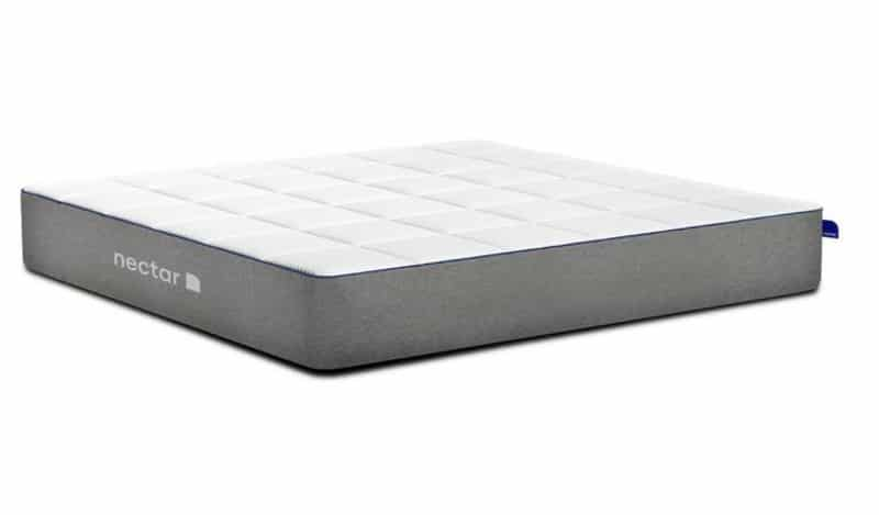 Nectar mattress for side sleepers 2021 side view