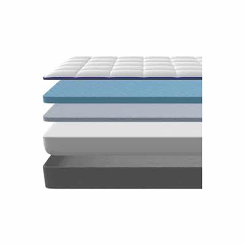 Nectar memory foam mattress inside view