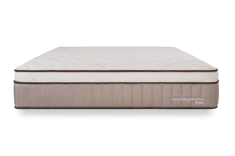 Nest Bedding Natural Latex mattress for back pain 2021 front view