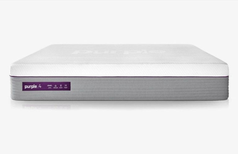Purple Hybrid mattress for side sleepers 2021 front view