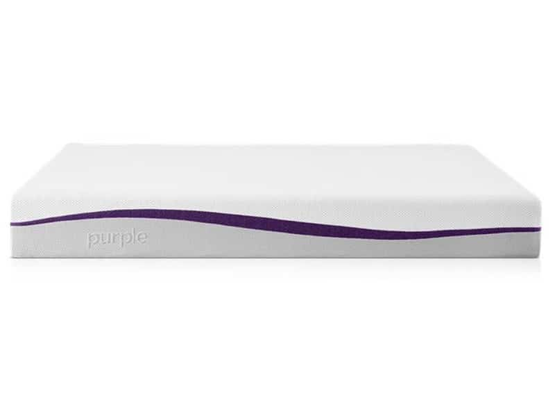 Purple mattress for back pain 2021 front view