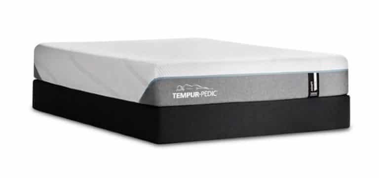 Tempur-Pedic memory foam mattress side view
