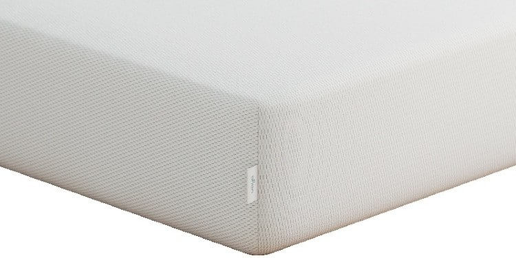Vaya memory foam mattress corner view