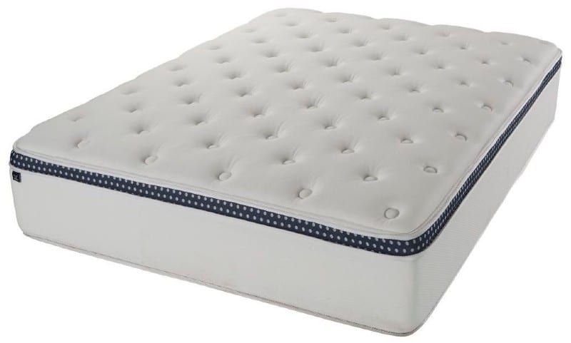 WinkBeds mattress for back pain 2021 side view