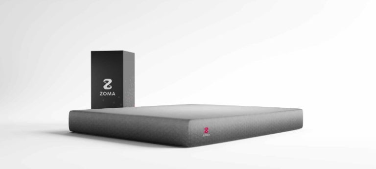 Zoma mattress for back pain 2021 side view