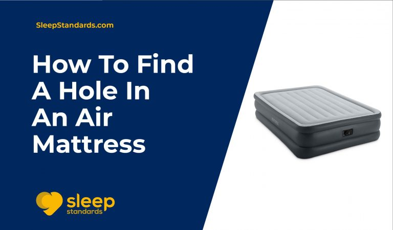 How To Find A Hole In An Air Mattress