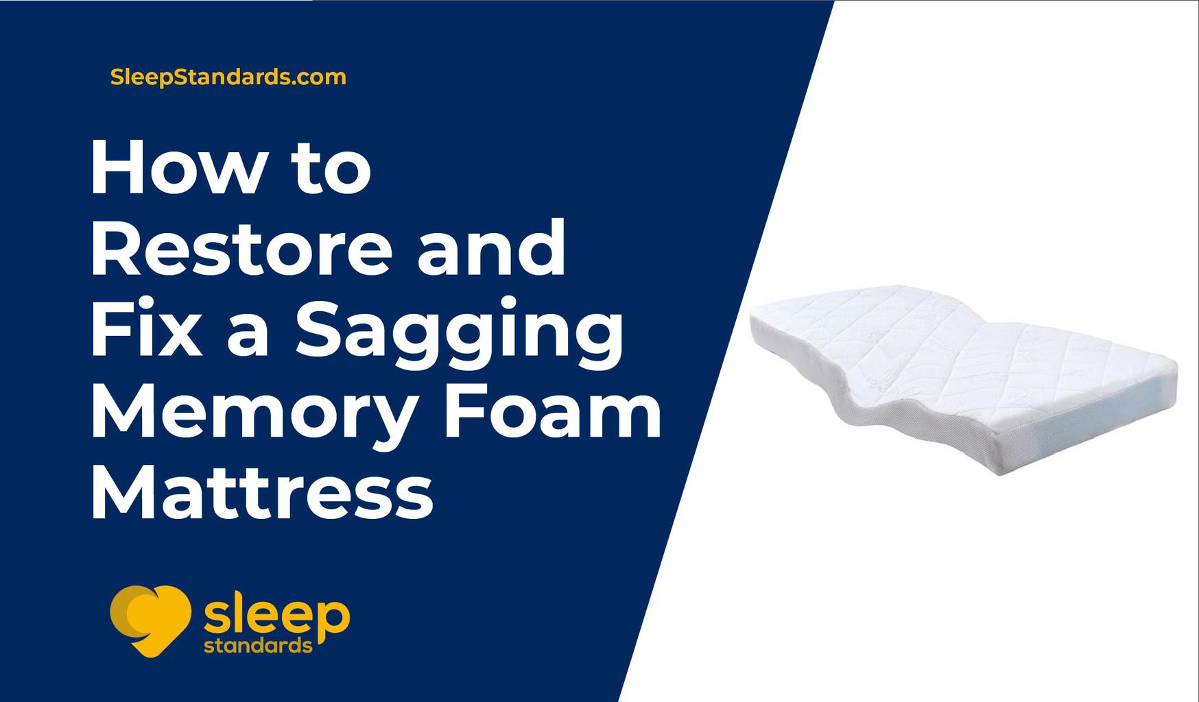 How to Restore and Fix a Sagging Memory Foam Mattress