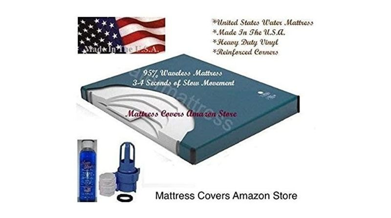 United State Water Mattress Free Flow California King Waterbed Mattress – Best Budget Mattress