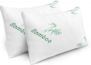 Plixio Shredded Memory Foam Pillow 2-Pack