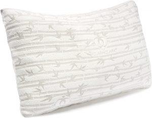 Clara Clark Bamboo Shredded Memory Foam Pillow