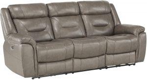 "Homelegance 87"" Power Double Reclining Sofa"