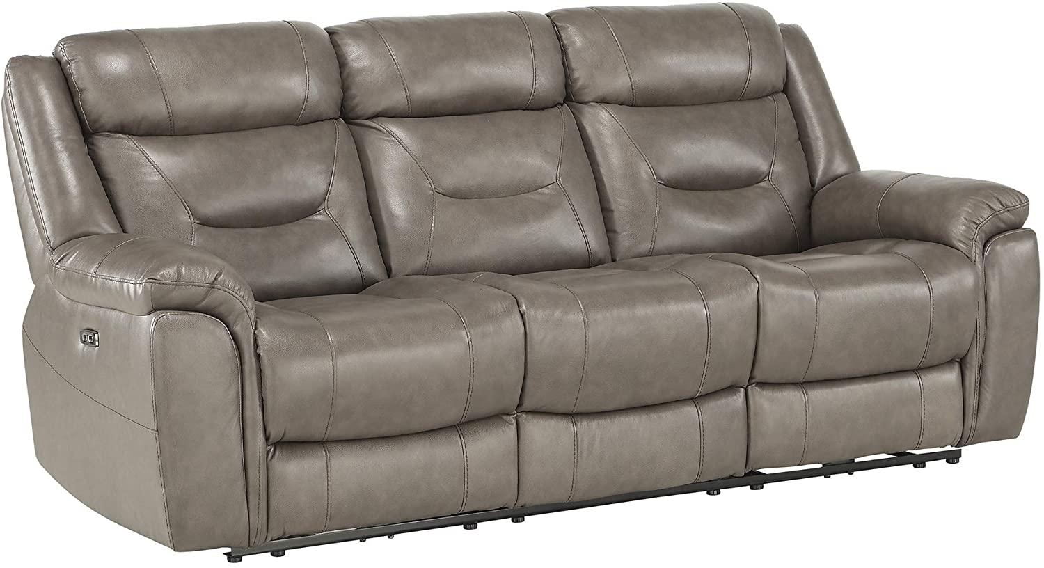 """Homelegance 87"""" Power Double Reclining Sofa - Best For Back Pain"""