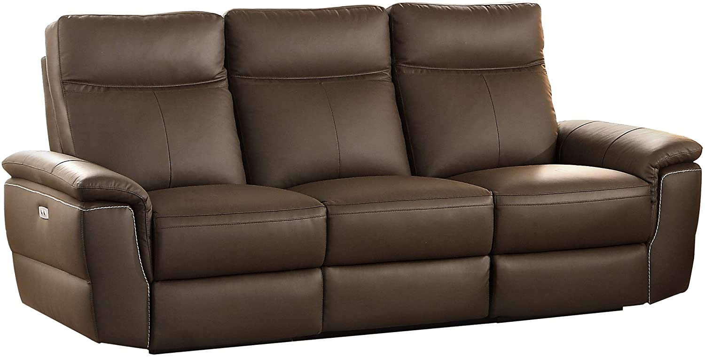 Homelegance Olympia Modern Design Power Reclining Sofa - Editor's Pick