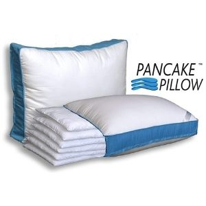 Pancake Pillow Adjustable Layer