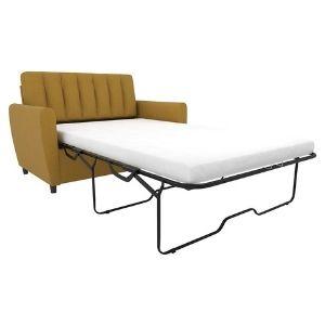 Amazon Brand- Stone & Beam Kristin Chair-and-a-Half Upholstered Sleeper Sofa