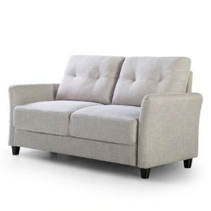 Zinus Contemporary Upholstered  Love Seats