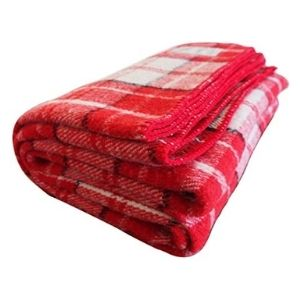 Woolly Mammoth Woolen Company Farmhouse Collection Blanket