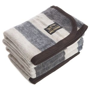 Woolly Mammoth Woolen Company Farmhouse Collection Blanket: Runners Up