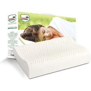 Organic Textiles Natural Latex Pillow – Best Ergonomic Design