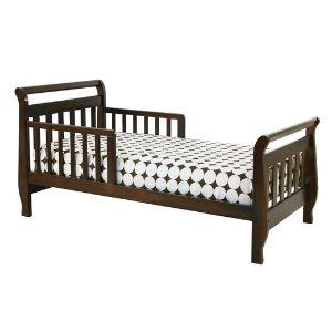 DaVinci Sleigh Toddler Bed, Espresso