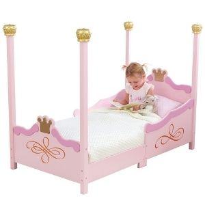 KidKraft Princess Toddler Bed at Amazon