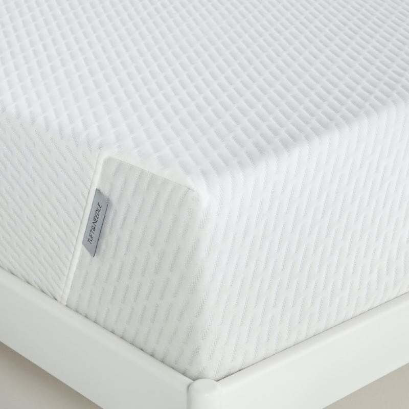 Tuft and Needle Original mattress in a box in 2021 corner view