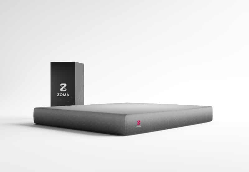Zoma mattress in a box in 2021 front view