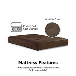 DHP Independently Encased Futon Mattress