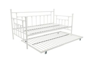 Manila metal daybed with trundle