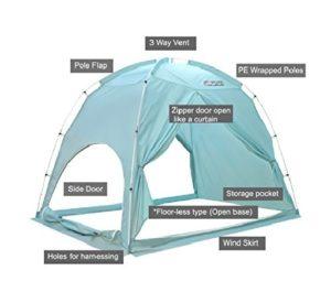 Besten privacy tent
